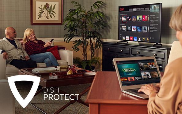 Get DISH Protect from Rivertown Satellite and Electronics in Cheboygan, Michigan